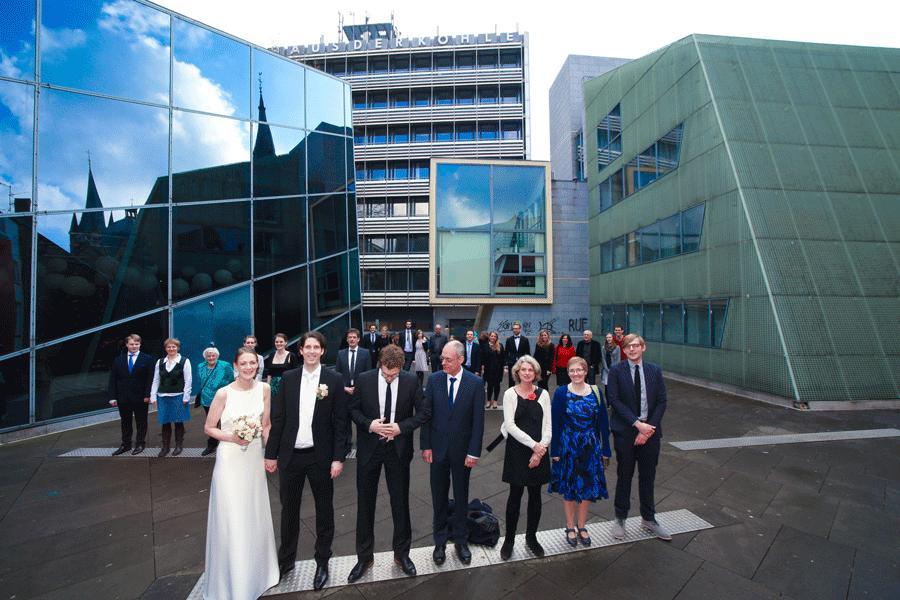 Hochzeit Shooting Aachen im Aachenfenster
