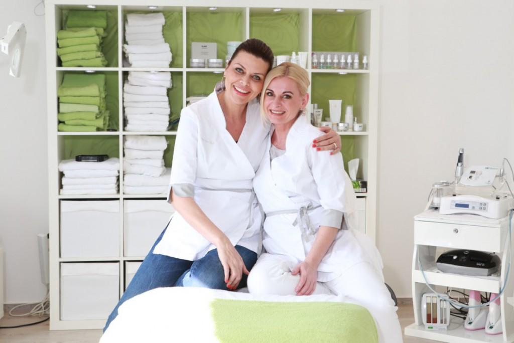 Kosmetikstudio Foto Frauen