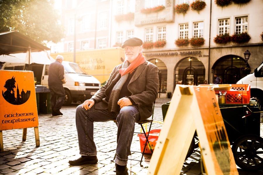 Künstler Porträt Outdoor