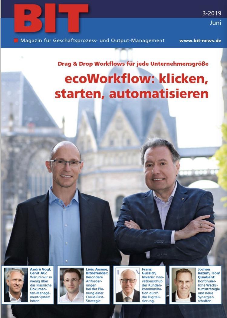 Zeitung und Editorial